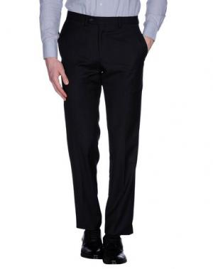 Повседневные брюки MESSORI. Цвет: стальной серый