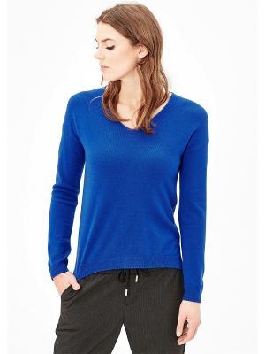 Пуловер S.OLIVER. Цвет: индиго
