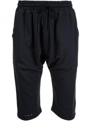 Спортивные шорты с заниженной проймой Publish. Цвет: чёрный