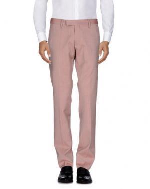 Повседневные брюки MESSAGERIE. Цвет: кирпично-красный