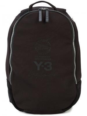 Рюкзак на молнии Y-3. Цвет: чёрный