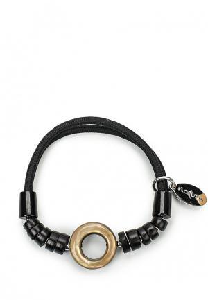 Браслет Nature bijoux. Цвет: черный