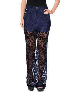 Повседневные брюки ANGELA MELE MILANO. Цвет: темно-синий
