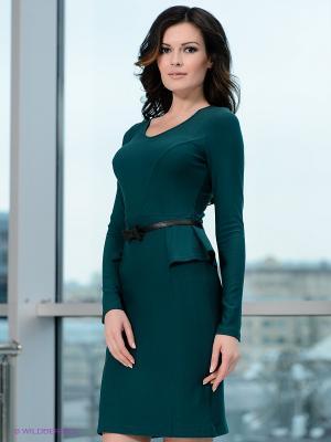 Платье V&V. Цвет: зеленый