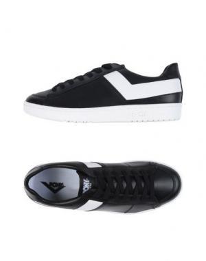 Низкие кеды и кроссовки PONY. Цвет: черный