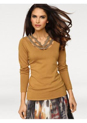 Пуловер ASHLEY BROOKE by Heine. Цвет: желтый