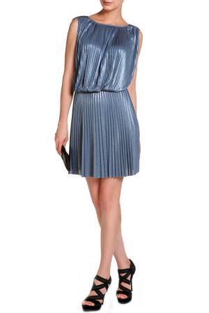 Платье Halston Heritage. Цвет: синий