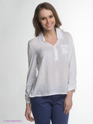 Блузка LERROS. Цвет: белый