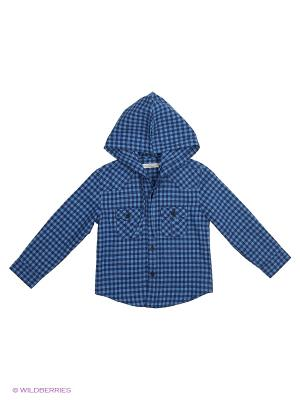 Рубашка Vitacci. Цвет: синий
