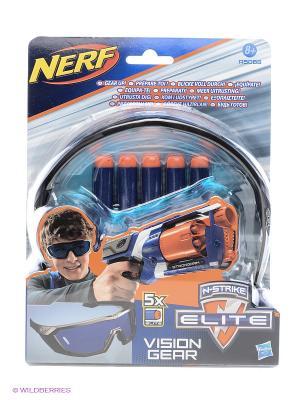 Элит Очки агента и 5 стрел Hasbro. Цвет: синий, зеленый, красный, оранжевый