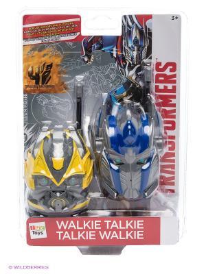 Рация TRANSFORMERS IMC toys. Цвет: синий, желтый