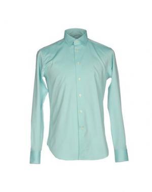 Pубашка BRANCACCIO C.. Цвет: бирюзовый