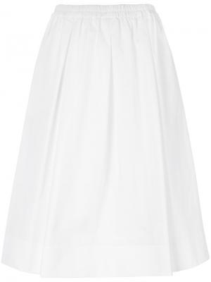 Full midi skirt Aspesi. Цвет: белый