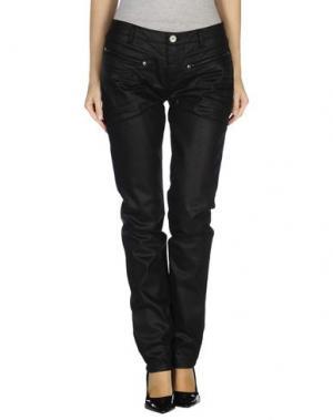 Джинсовые брюки ONE STEP. Цвет: черный