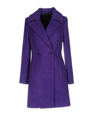Пальто CARLA G.. Цвет: фиолетовый