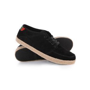 Кеды кроссовки низкие  Convert Black/Tan/Rasta Osiris. Цвет: черный