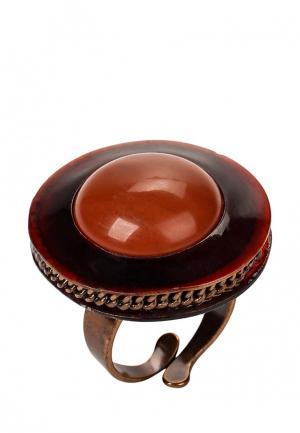 Кольцо Nature bijoux. Цвет: бордовый