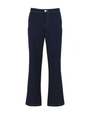 Повседневные брюки ARTHUR ARBESSER x YOOX. Цвет: темно-синий