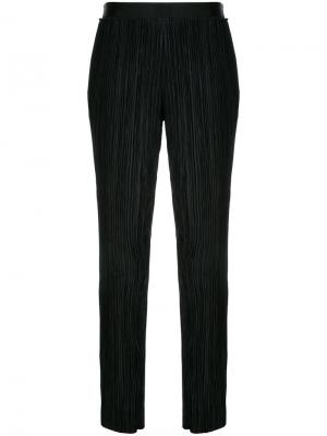 Плиссированные брюки Haider Ackermann. Цвет: чёрный