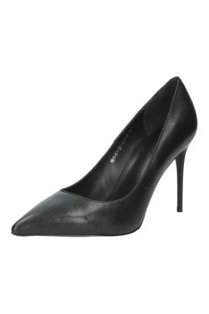 Туфли с острым носком Calipso. Цвет: черный