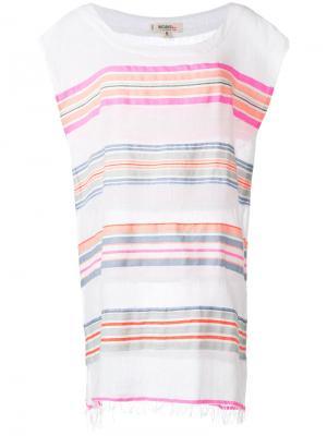 Stripes detail mini dress Lemlem. Цвет: белый
