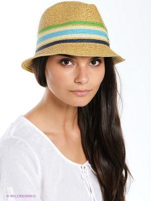 Шляпка AVANTA. Цвет: салатовый, голубой