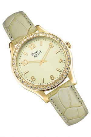 Наручные часы PIERRE RICAUD. Цвет: желтый, бежевый
