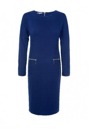 Платье LO. Цвет: синий