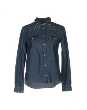 Джинсовая рубашка APRIL 77. Цвет: синий