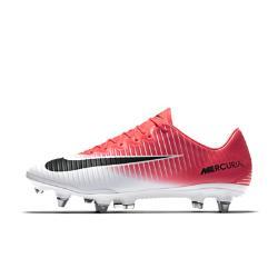 Футбольные бутсы для игры на мягком грунте  Mercurial Vapor XI SG-PRO Nike. Цвет: розовый