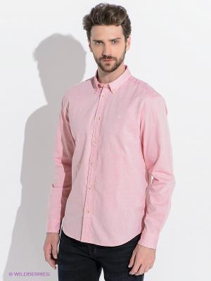 Рубашка Wrangler. Цвет: розовый