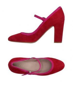 Туфли ANCARANI. Цвет: кирпично-красный