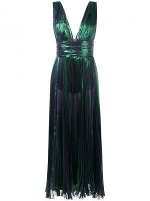 Платье Merida Maria Lucia Hohan. Цвет: зелёный
