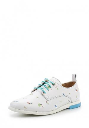 Ботинки Nobrand. Цвет: белый