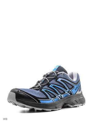 Ботинки SHOES WINGS FLYTE 2 SALOMON. Цвет: черный, темно-синий, синий