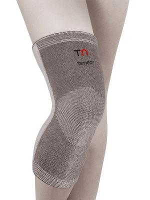 Бандаж на коленный сустав Timed. Цвет: серый