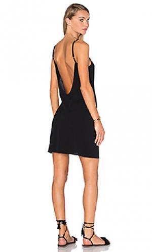 Платье sequoia FLYNN SKYE. Цвет: черный