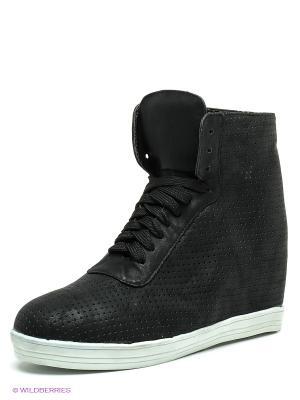 Ботинки Friis. Цвет: черный