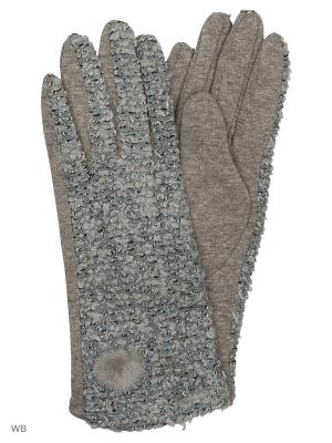 Перчатки Palantini. Цвет: серый