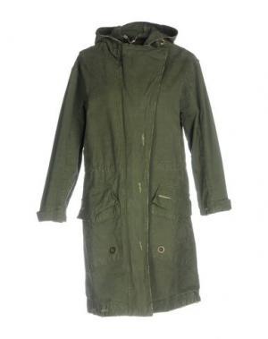 Легкое пальто MANILA GRACE. Цвет: зеленый-милитари