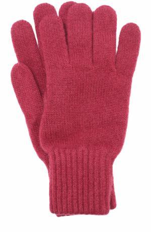 Кашемировые перчатки TSUM Collection. Цвет: бордовый