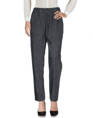 Повседневные брюки CAMO. Цвет: серый