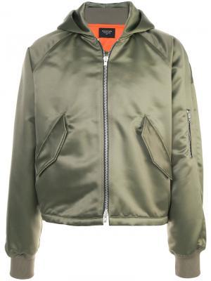 Классическая куртка-бомбер Fear Of God. Цвет: зелёный