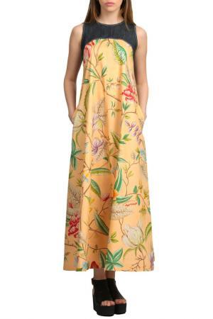 Платье Энсо. Цвет: персиковый