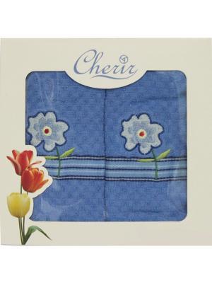 Набор полотенец для кухни - 2шт. (38*64) Dorothy's Нome. Цвет: синий