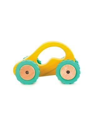 Машина Роли-Поли LUCY&LEO. Цвет: желтый