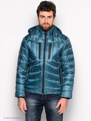 Куртка People. Цвет: морская волна