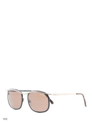 Солнцезащитные очки FT 0419 50J Tom Ford. Цвет: золотистый, коричневый