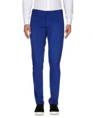 Повседневные брюки DONDUP. Цвет: синий