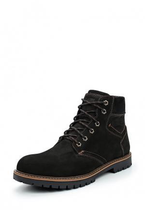 Ботинки iD active. Цвет: коричневый